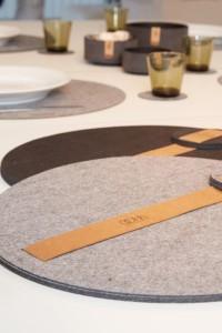 Runde Tischsets: OOhh-Collection Lübech Living