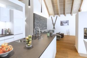 Eigentumswohnung Pontresina: Landhausdielen Bauwerk Parkett